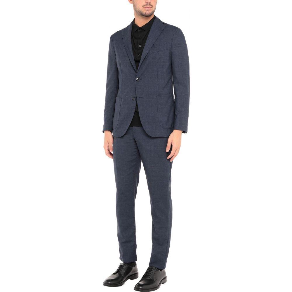 ボリオリ メンズ アウター スーツ ジャケット blue チープ Slate 好評 サイズ交換無料 BOGLIOLI Suits