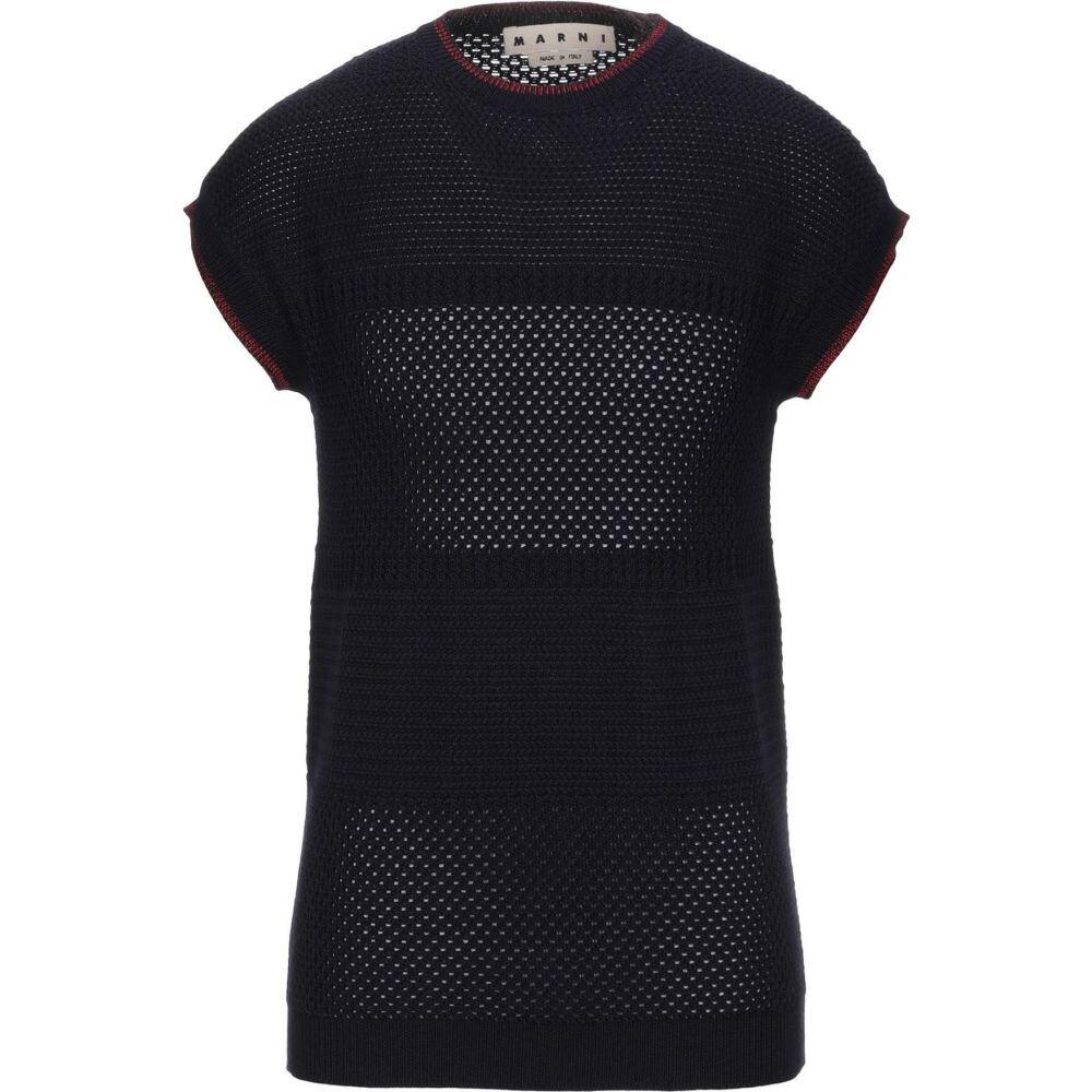 【サイズ交換OK】 マルニ MARNI メンズ blue ニット・セーター トップス メンズ【Sweater トップス【Sweater】Dark】Dark blue, イケダグリーンセンター:c397c45a --- rishitms.com