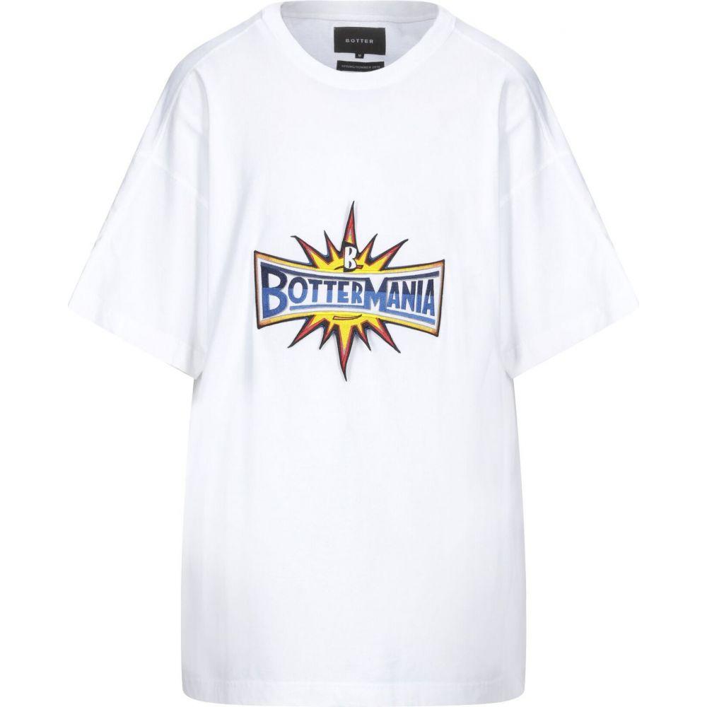 【激安セール】 ボッター BOTTER メンズ Tシャツ トップス【T-Shirt】White, アスカムラ dc3e5b5c