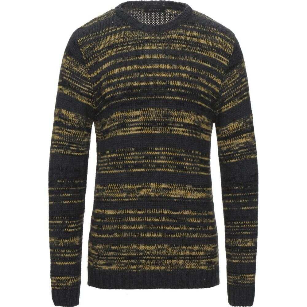卸売 ディクタット DIKTAT メンズ ニット・セーター トップス【Sweater】Steel grey, AutoSite 2ddfe469