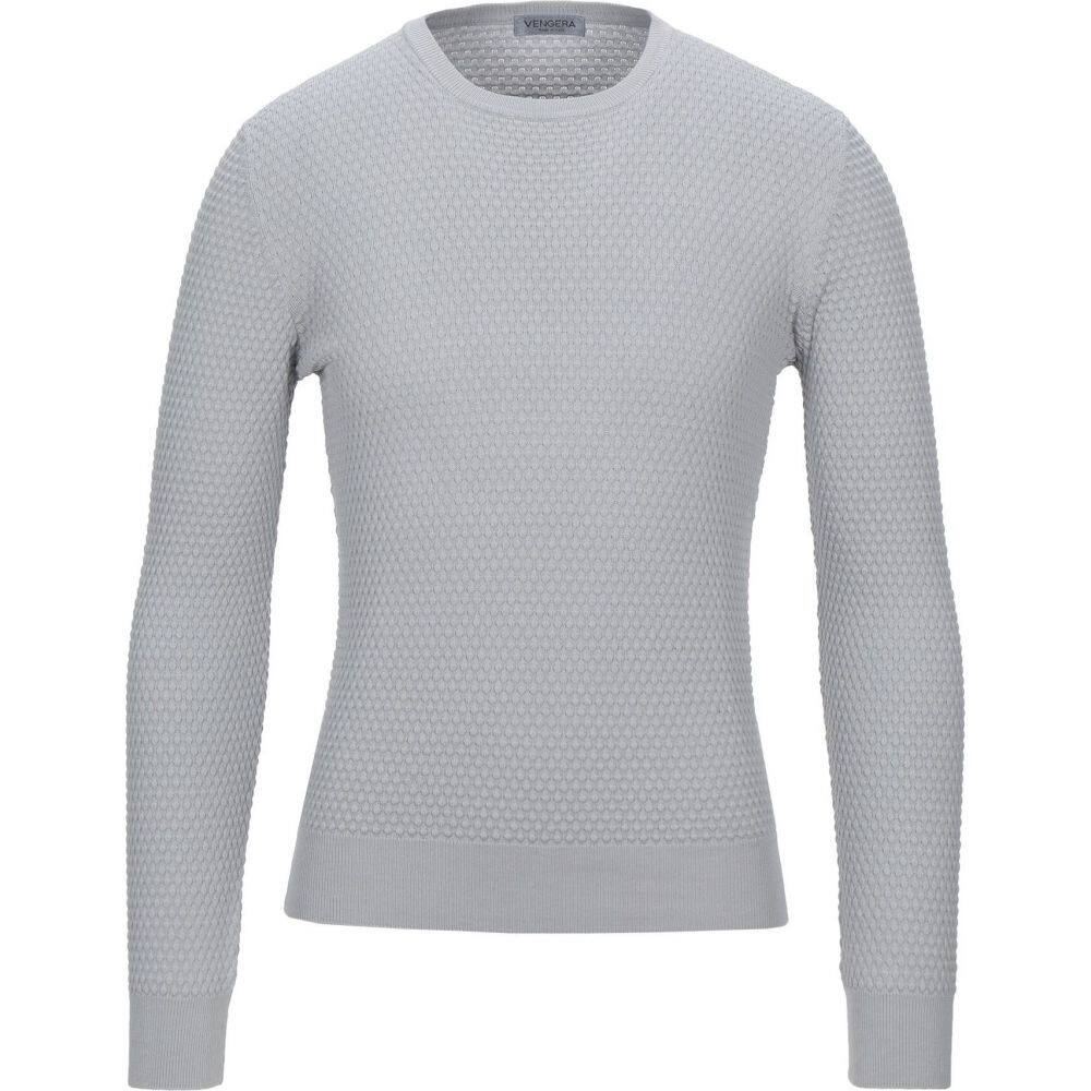 ベンゲラ メンズ トップス 毎日激安特売で 営業中です ニット セーター grey Light VENGERA 専門店 Sweater サイズ交換無料