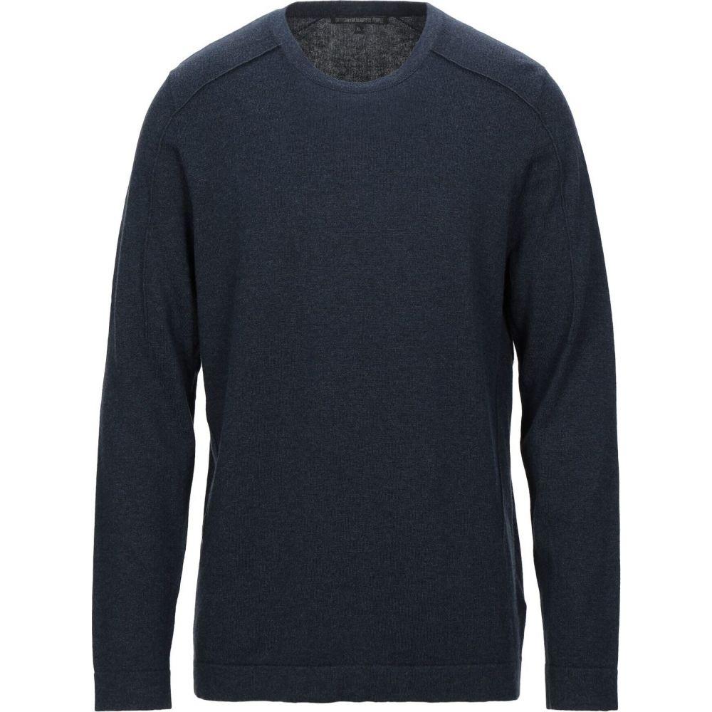 ドライコーン メンズ トップス ニット セーター DRYKORN 驚きの値段 Sweater Dark 低価格化 blue サイズ交換無料
