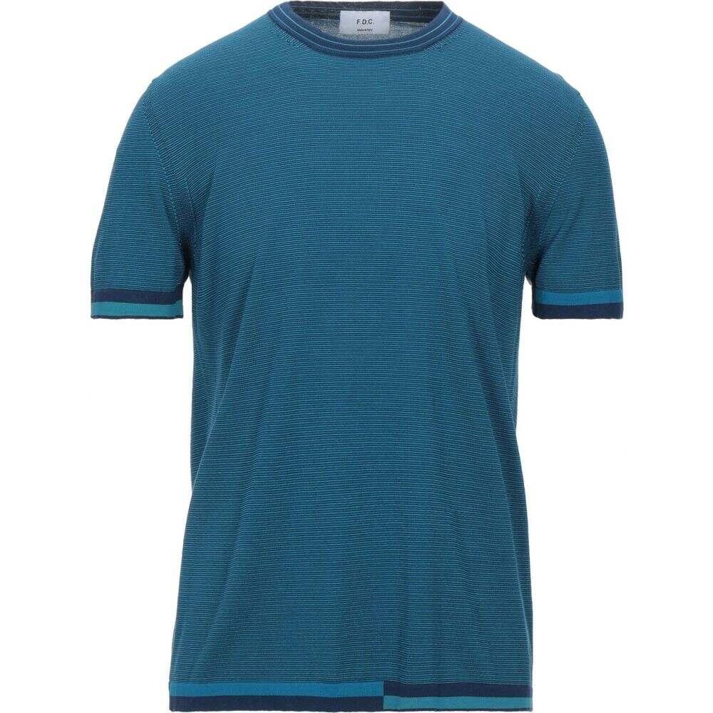 ファブリツィオ 保障 デル カルロ メンズ トップス ニット セーター jade サイズ交換無料 受注生産品 Deep FABRIZIO DEL CARLO Sweater