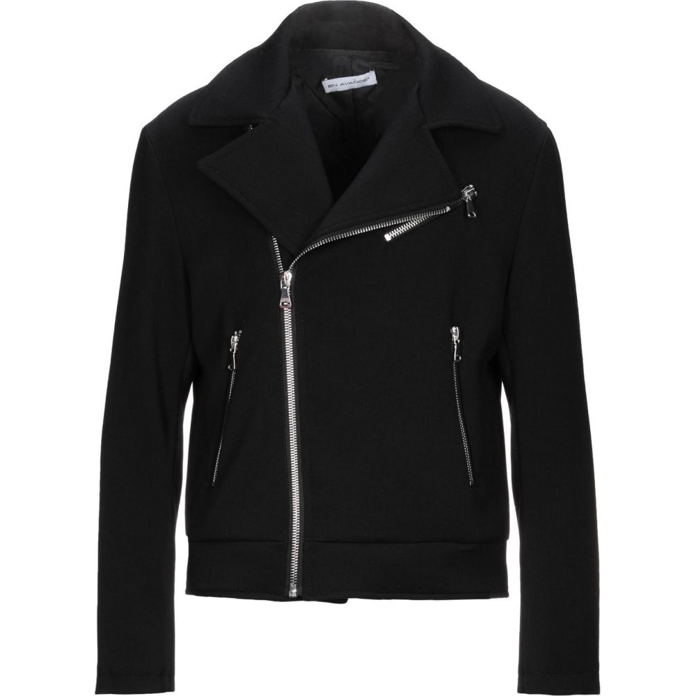 品多く エン アヴァンセ EN AVANCE メンズ ジャケット ライダース アウター【Biker Jacket】Black, ing(イング) 699559be