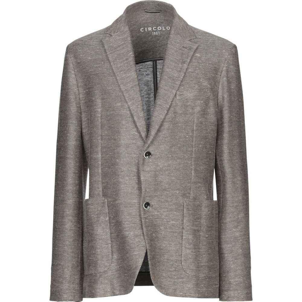 国内発送 チルコロ1901 CIRCOLO 1901 メンズ スーツ・ジャケット アウター【Blazer】Khaki, トータルマーケット bf0c1933