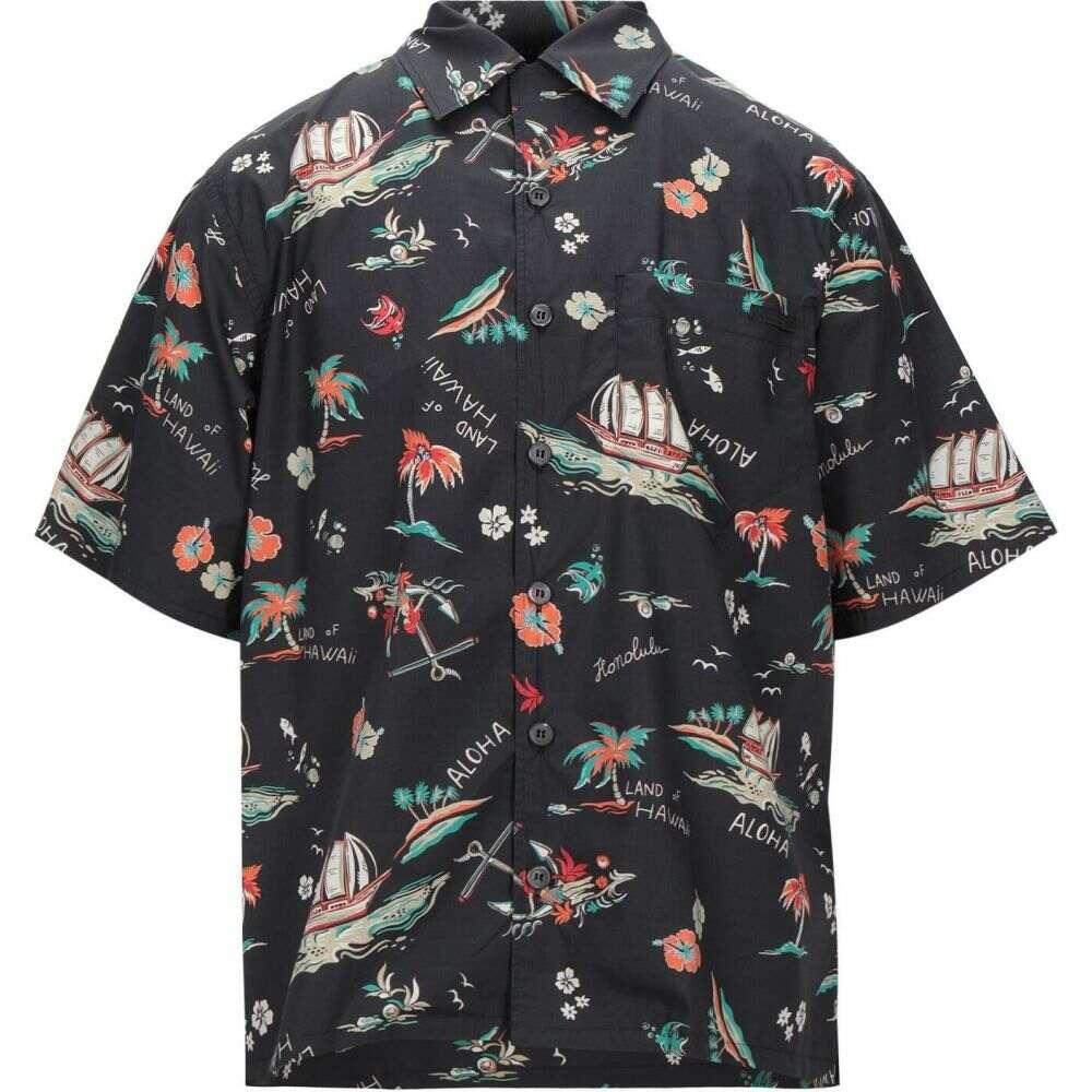 【最安値に挑戦】 プラダ PRADA メンズ シャツ プラダ トップス【Solid トップス【Solid Color シャツ Shirt】Black, ミノオシ:a424c995 --- tedlance.com