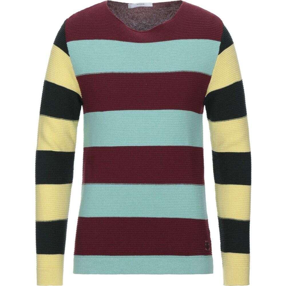 タケシ クロサワ TAKESHY KUROSAWA メンズ ニット・セーター トップス【Sweater】Maroon