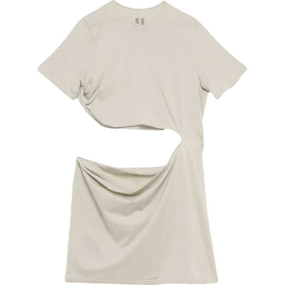 開店祝い リック オウエンス RICK OWENS メンズ Tシャツ トップス【T-Shirt】Beige, ウエダシ 86aad196