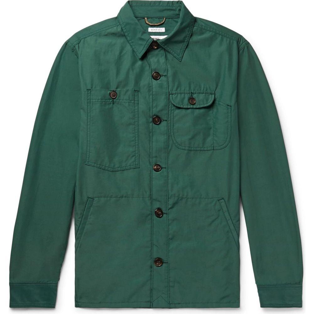 好評 フリーマンズ スポーティング クラブ F.S.C. FREEMANS SPORTING CLUB メンズ シャツ トップス【Solid Color Shirt】Green, 馬具職人工房 b1287ef7