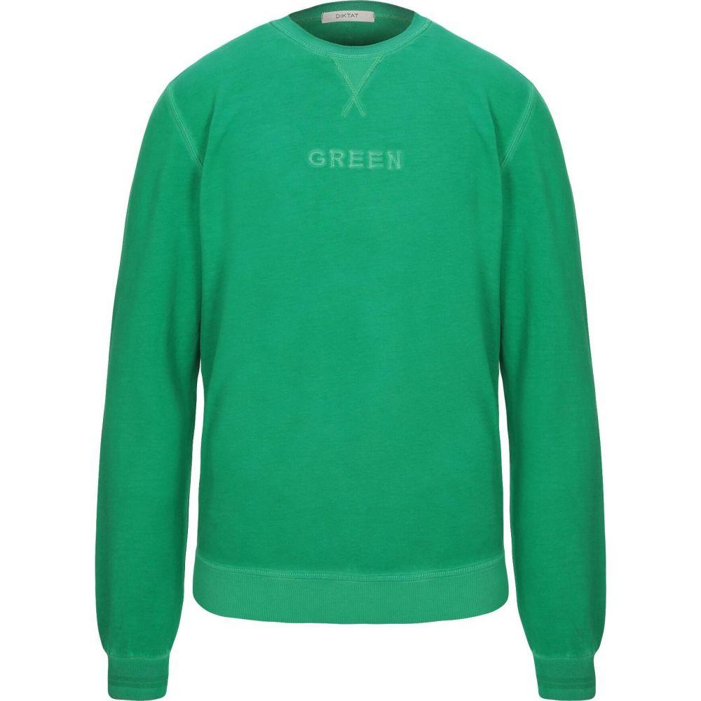 ディクタット DIKTAT メンズ スウェット・トレーナー トップス【sweatshirt】Green