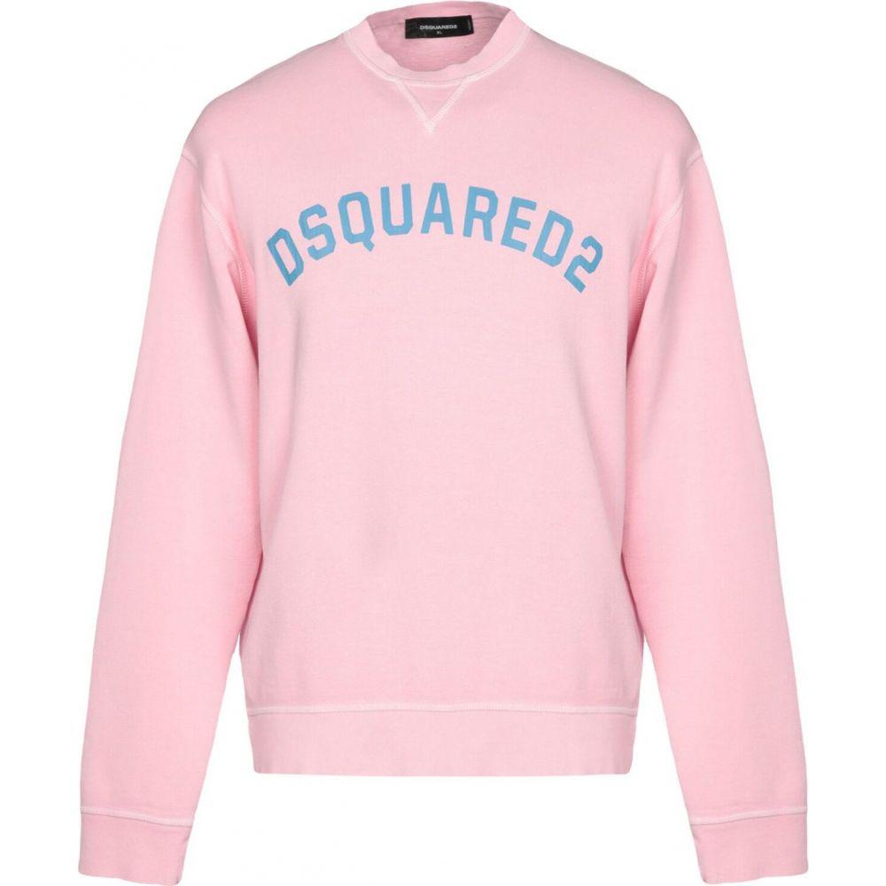 ディースクエアード DSQUARED2 メンズ スウェット・トレーナー トップス【sweatshirt】Pink