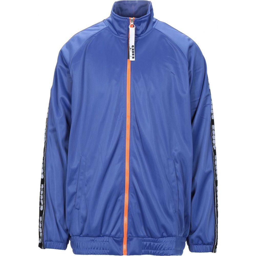 ディアドラ DIADORA メンズ スウェット・トレーナー トップス【sweatshirt】Bright blue