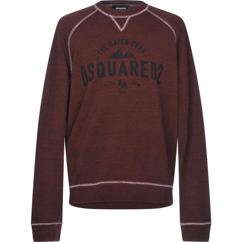 ディースクエアード DSQUARED2 メンズ スウェット・トレーナー トップス【sweatshirt】Deep purple