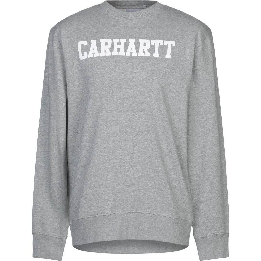 カーハート CARHARTT メンズ スウェット・トレーナー トップス【sweatshirt】Light grey