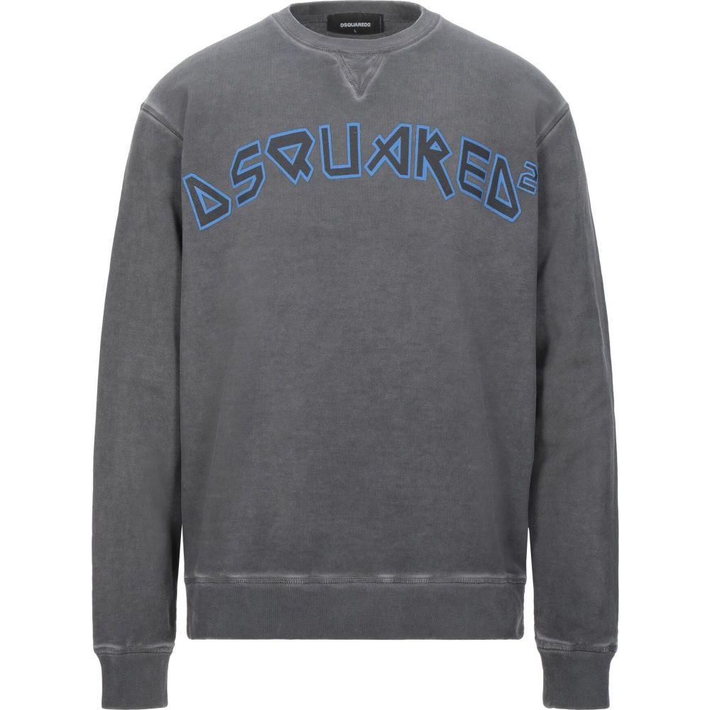 ディースクエアード DSQUARED2 メンズ スウェット・トレーナー トップス【sweatshirt】Grey