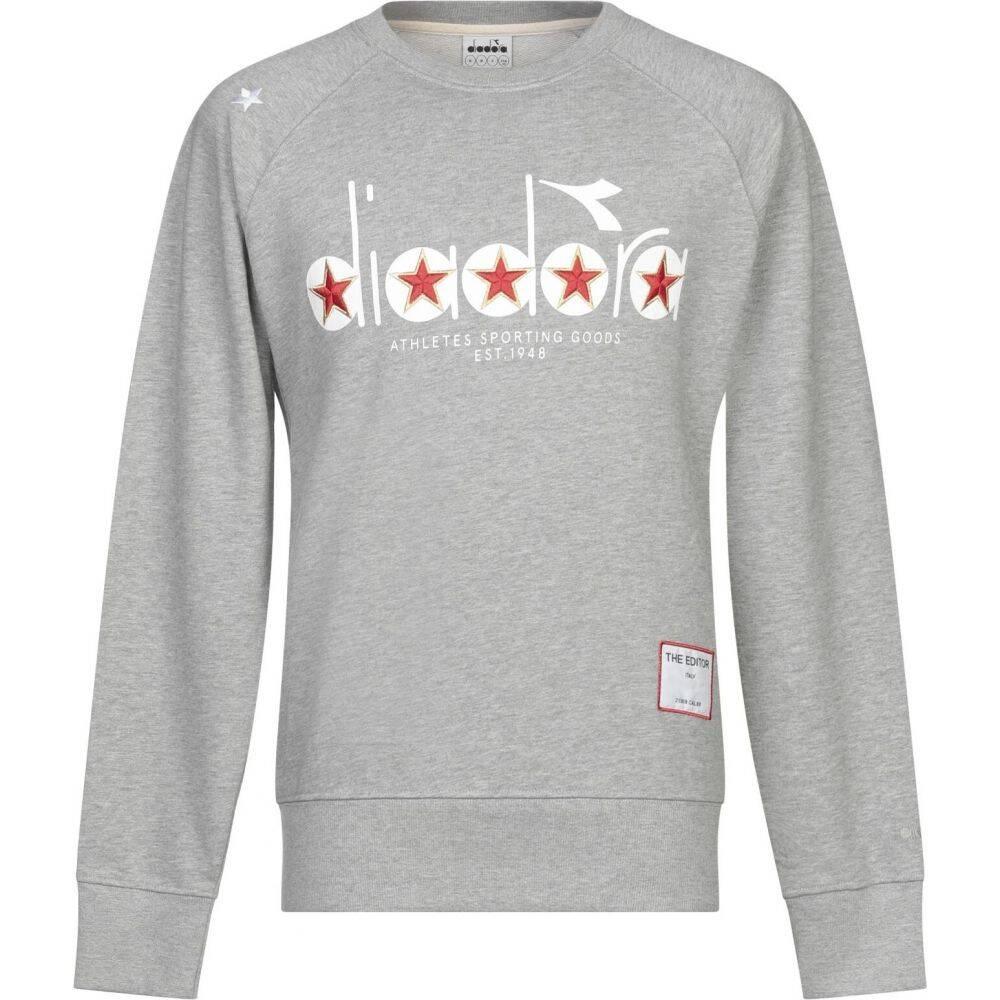 ディアドラ バイ ジ エディター DIADORA by THE EDITOR メンズ スウェット・トレーナー トップス【sweatshirt】Grey