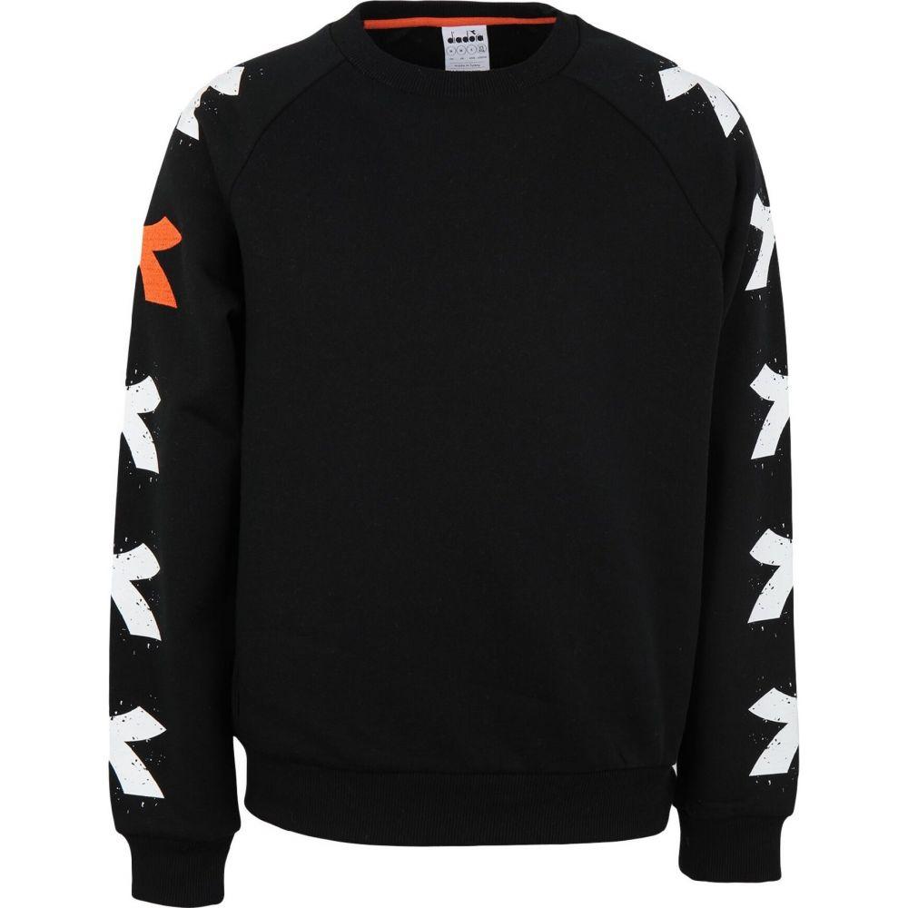 ディアドラ DIADORA メンズ スウェット・トレーナー トップス【sweatshirt】Black