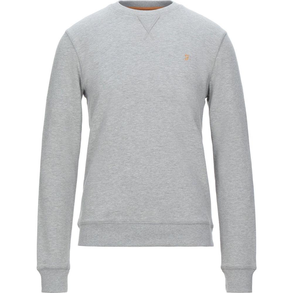 ファーラー FARAH メンズ スウェット・トレーナー トップス【sweatshirt】Light grey