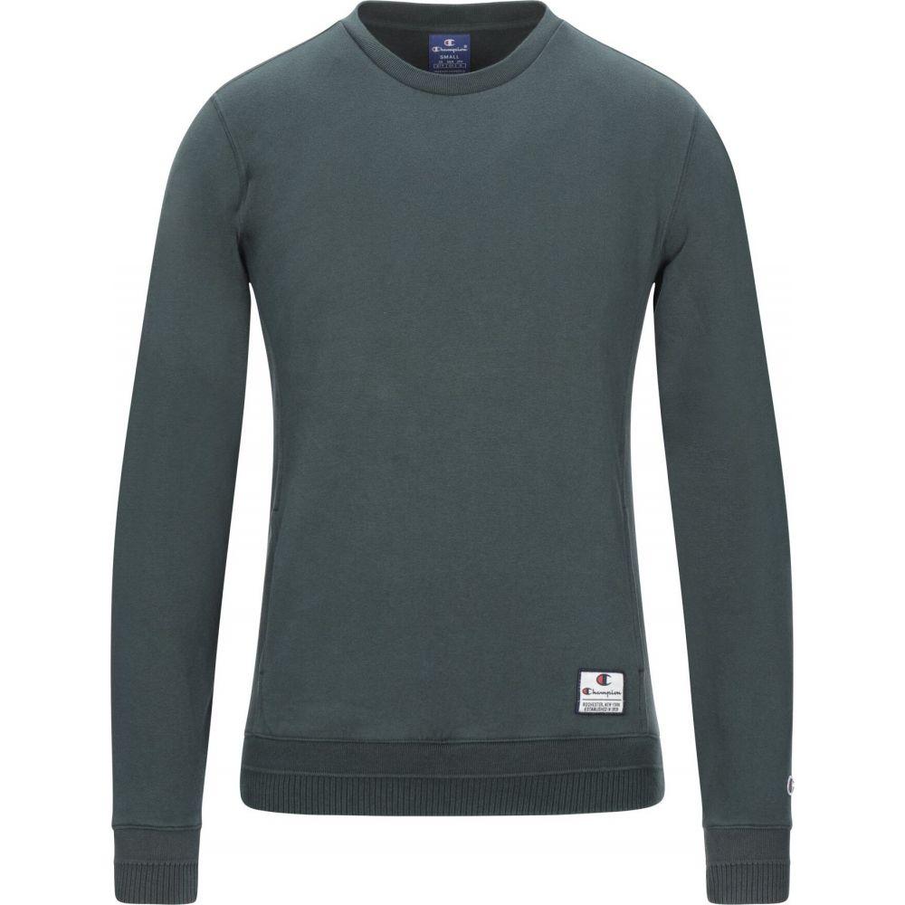 チャンピオン CHAMPION メンズ スウェット・トレーナー トップス【sweatshirt】Dark green