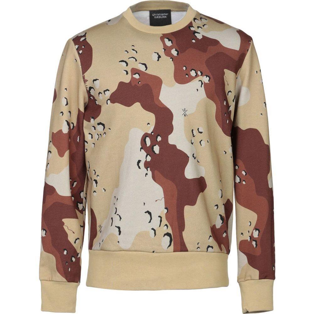 クリストファー レイバーン CHRISTOPHER RAEBURN メンズ スウェット・トレーナー トップス【sweatshirt】Military green