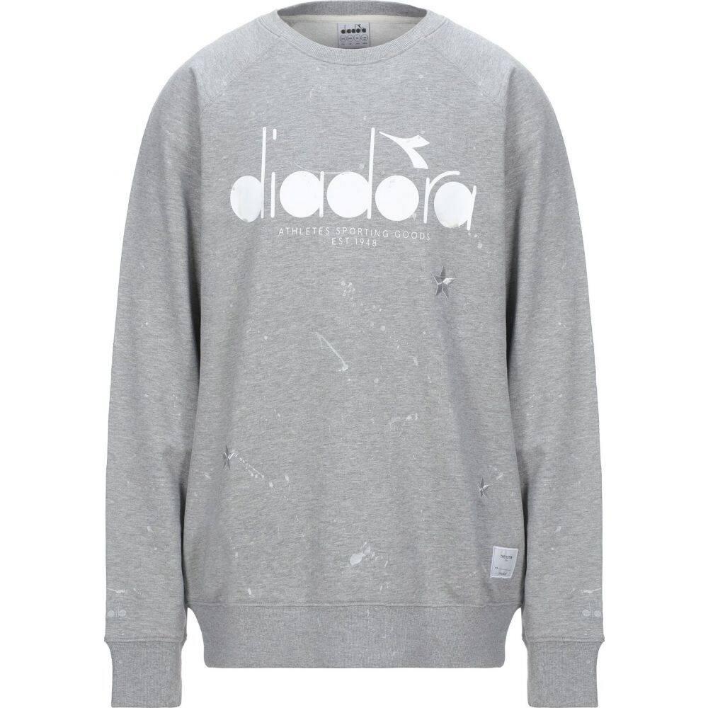 ディアドラ バイ ジ エディター DIADORA by THE EDITOR メンズ スウェット・トレーナー トップス【sweatshirt】Light grey
