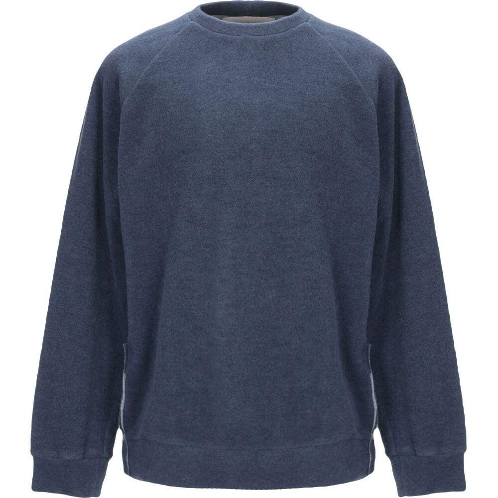 コラレート CORELATE メンズ スウェット・トレーナー トップス【sweatshirt】Slate blue