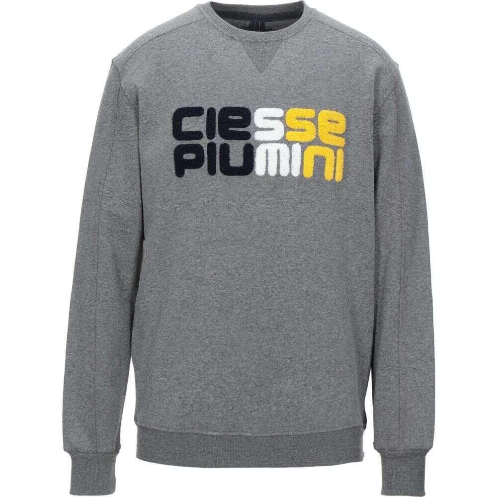 チェッセ ピューミニ CIESSE PIUMINI メンズ スウェット・トレーナー トップス【sweatshirt】Lead