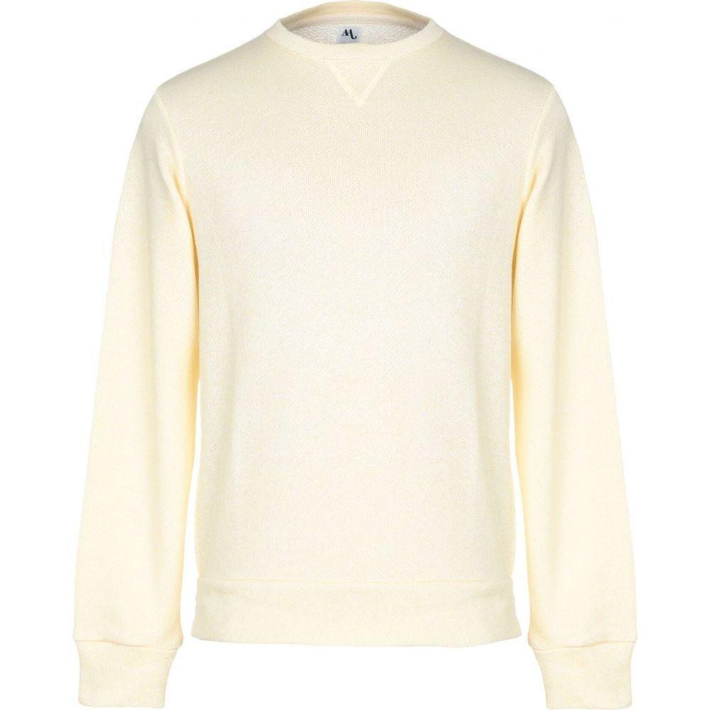 ドッピア アー DOPPIAA メンズ スウェット・トレーナー トップス【sweatshirt】Light yellow