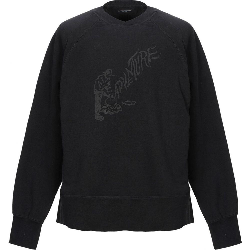 エンジニアードガーメンツ ENGINEERED GARMENTS メンズ スウェット・トレーナー トップス【sweatshirt】Black