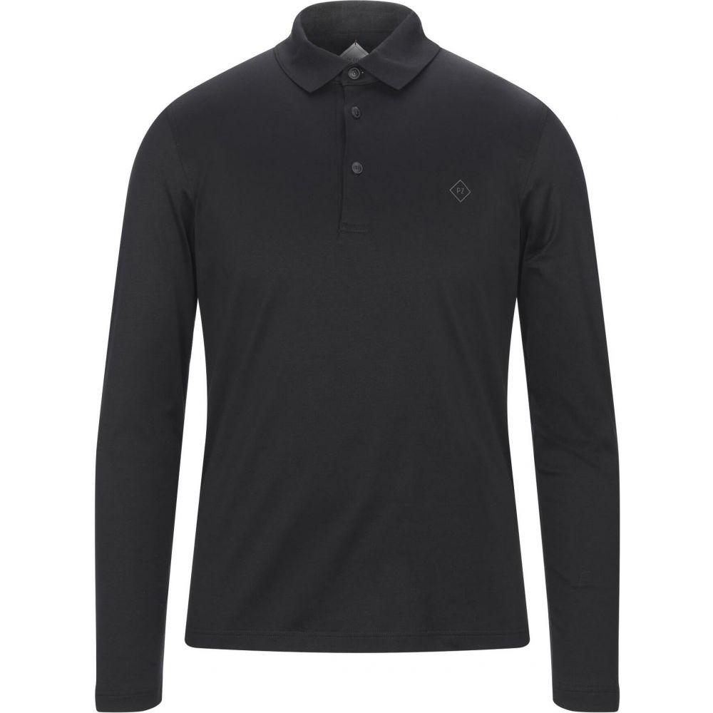 お手頃価格 パルジレリ PAL ZILERI メンズ ポロシャツ トップス【Polo Shirt】Black, スミタスポーツ 54507954