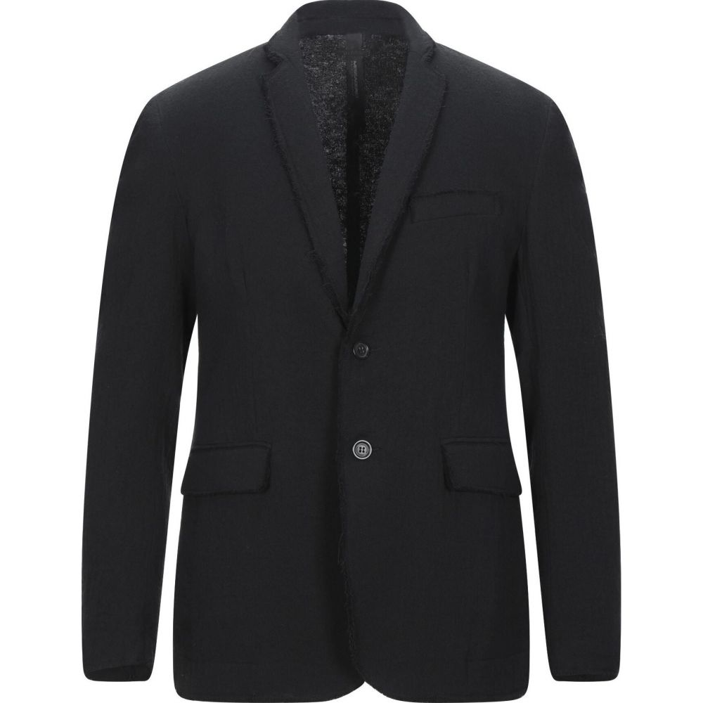<title>メッサジェリエ メンズ アウター スーツ お買い得品 ジャケット Black サイズ交換無料 MESSAGERIE Blazer</title>