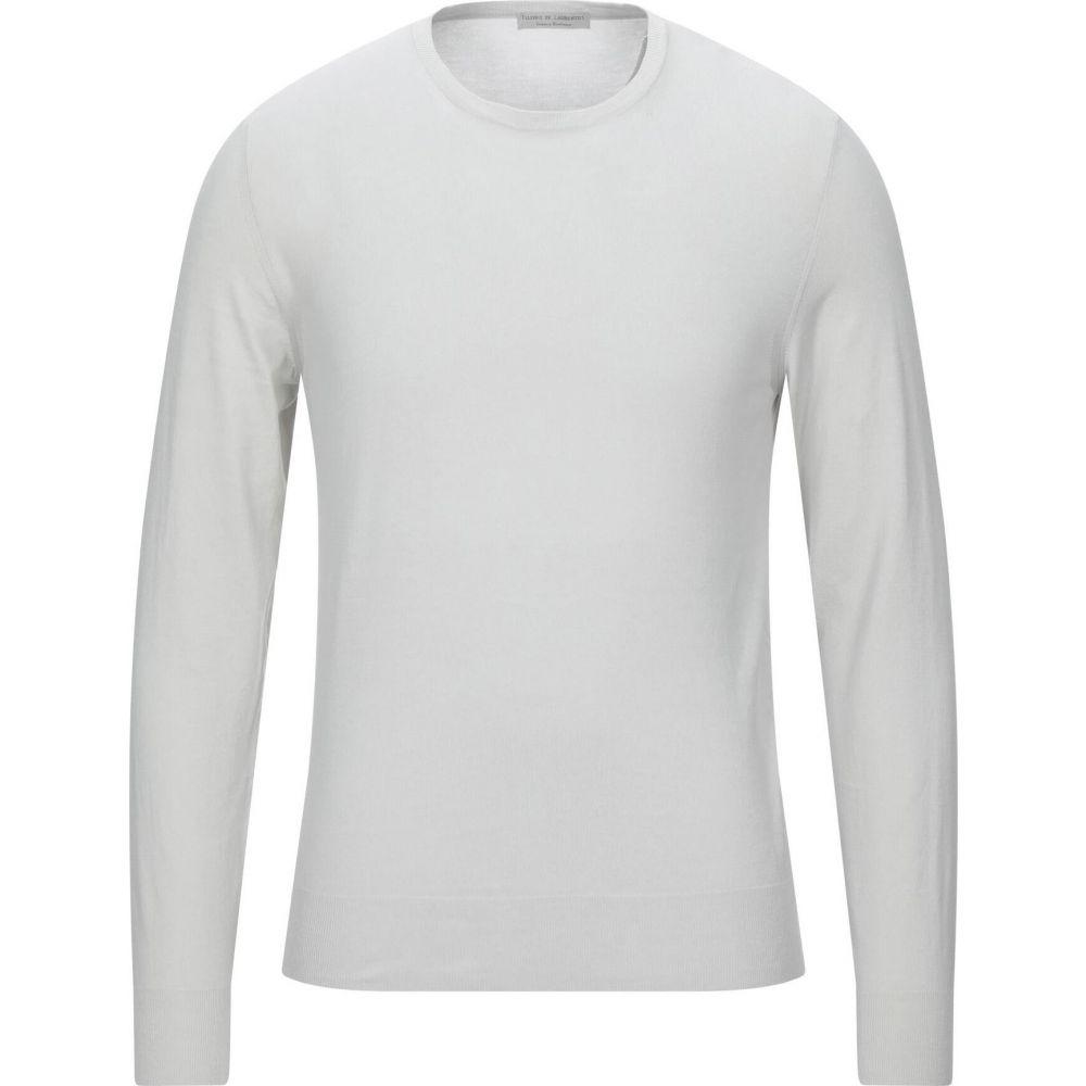 フィリッポ デ ローレンティス メンズ トップス ニット セーター DE サイズ交換無料 FILIPPO LAURENTIIS Sweater grey 海外並行輸入正規品 Light 直営限定アウトレット