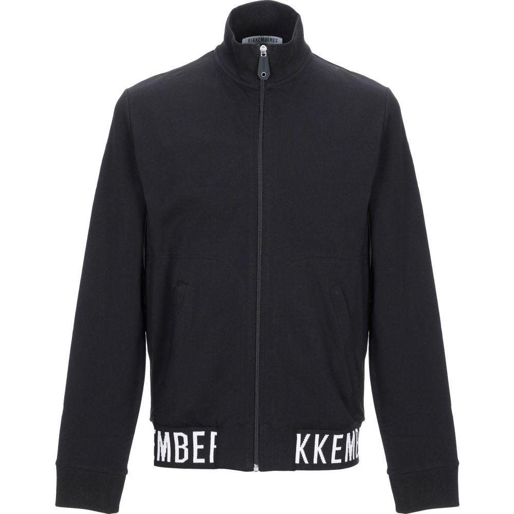 ★大人気商品★ ビッケンバーグ BIKKEMBERGS メンズ スウェット・トレーナー トップス【Sweatshirt】Black, 収納家具のイーユニット f64b2c2b