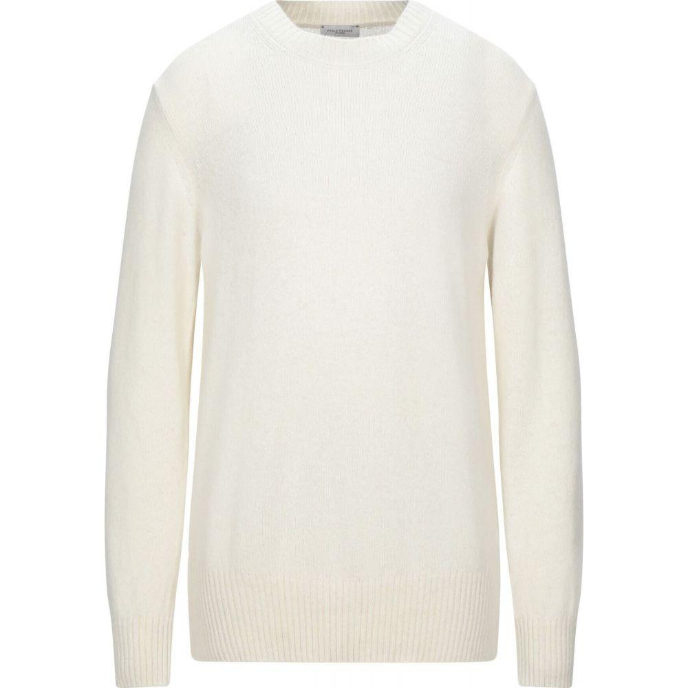 人気アイテム パオロ ペコラ PAOLO PECORA メンズ ニット・セーター トップス【Sweater】Ivory, 【高知インター店】 9eb273fb