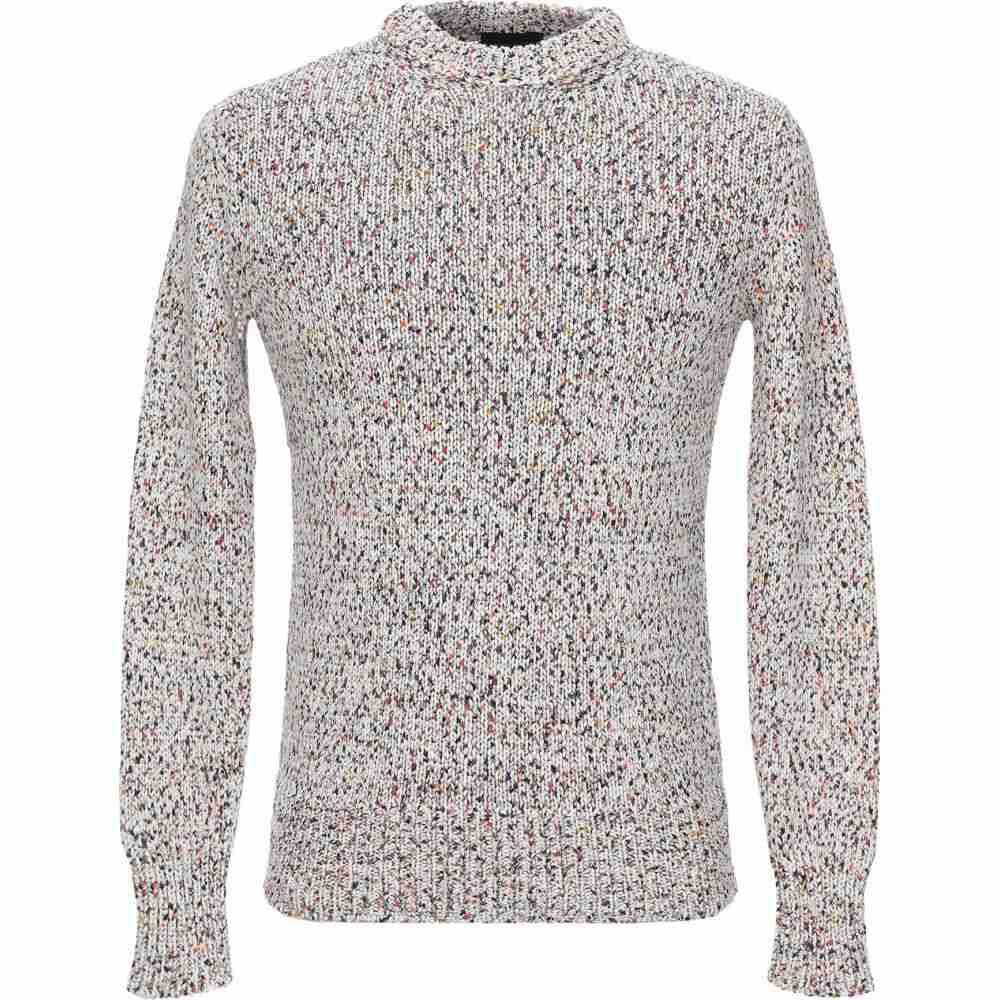 【おすすめ】 ロベルトコリーナ ROBERTO COLLINA メンズ ニット・セーター トップス【Sweater】Ivory, 花とインテリア雑貨 Fleur Bazar cd4d9fc9