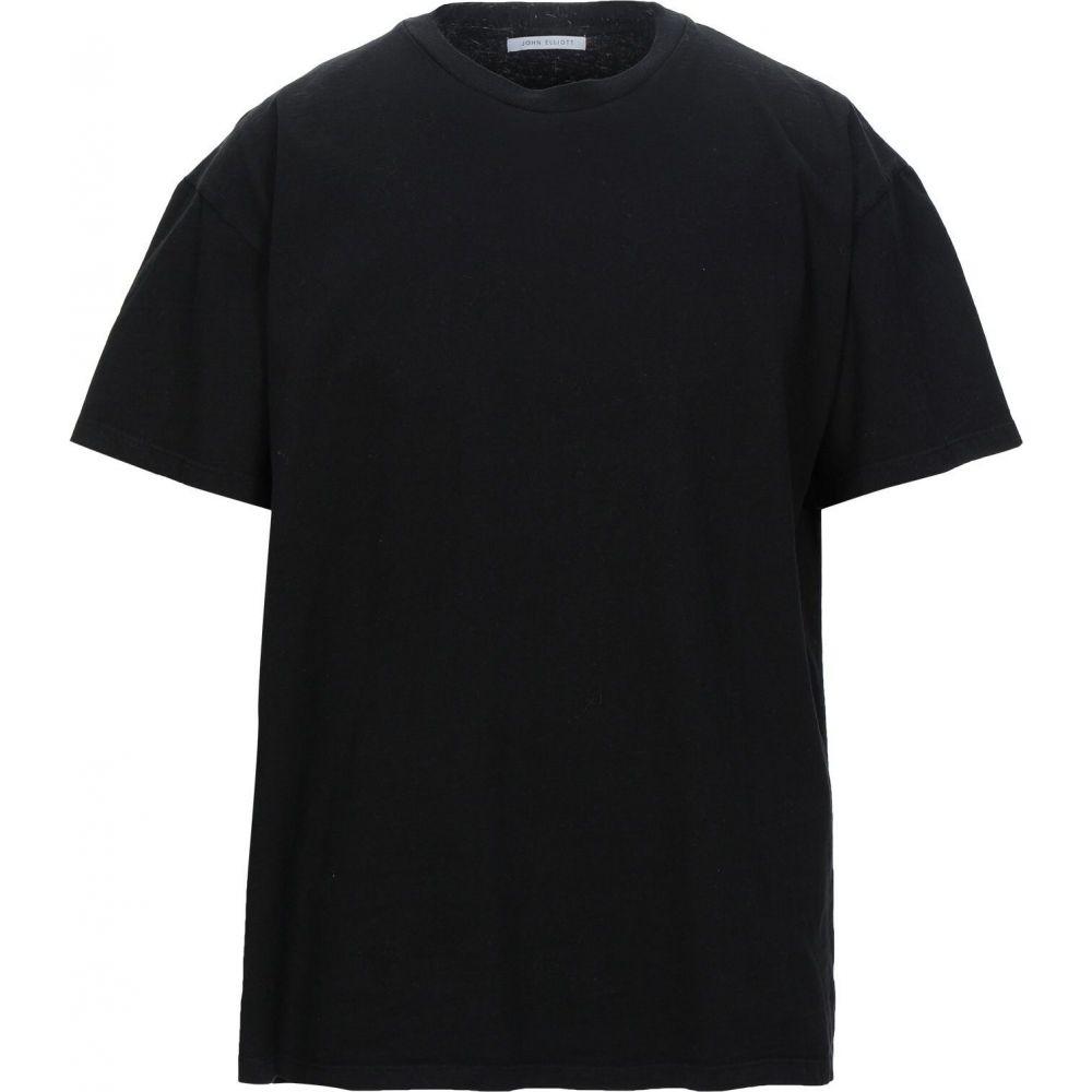 本物保証!  ジョン エリオット JOHN ELLIOTT メンズ Tシャツ トップス【T-Shirt】Black, どんまい a6313509