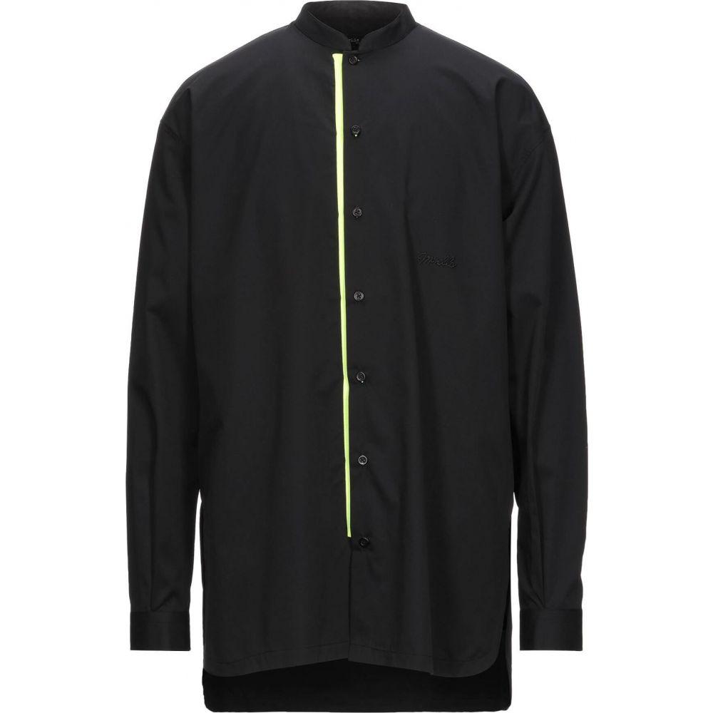 100%本物 フランキーモレロ FRANKIE MORELLO メンズ シャツ トップス【Solid Color Shirt】Black, GLOCALWORKS81 bab7d9bd