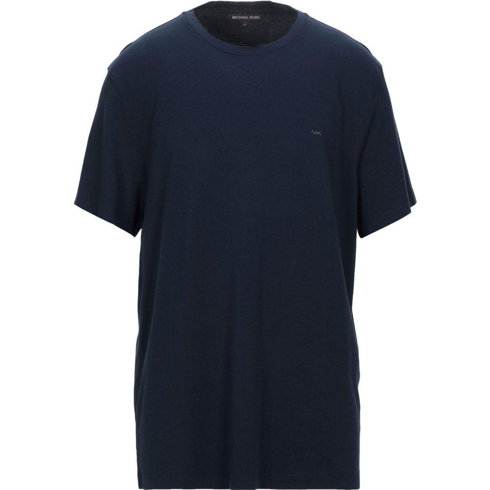 上品 マイケル コース MICHAEL blue KORS MENS メンズ Tシャツ メンズ MENS トップス【T-Shirt】Dark blue, ココカル:8fcc7d8c --- mvs.disintermediary.com