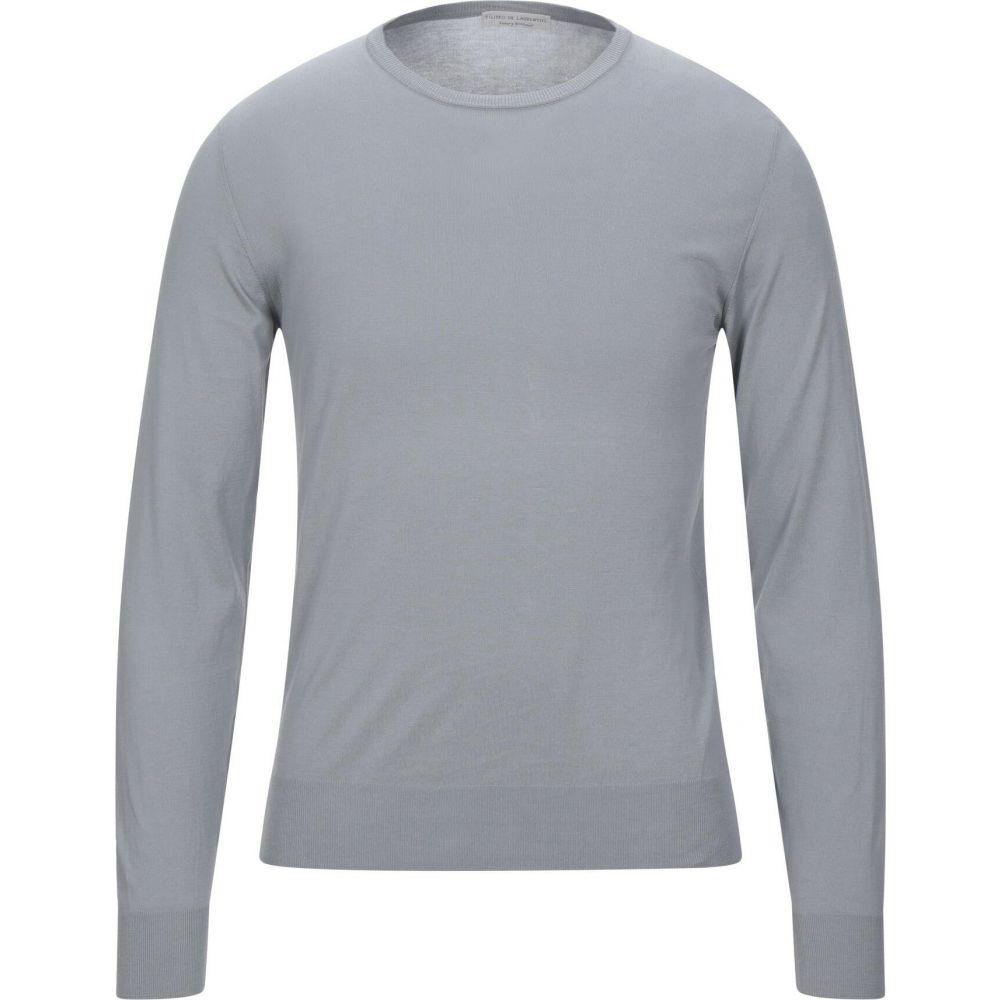 フィリッポ デ ローレンティス メンズ トップス ニット セーター Grey DE Sweater 着後レビューで 送料無料 お得クーポン発行中 サイズ交換無料 LAURENTIIS FILIPPO