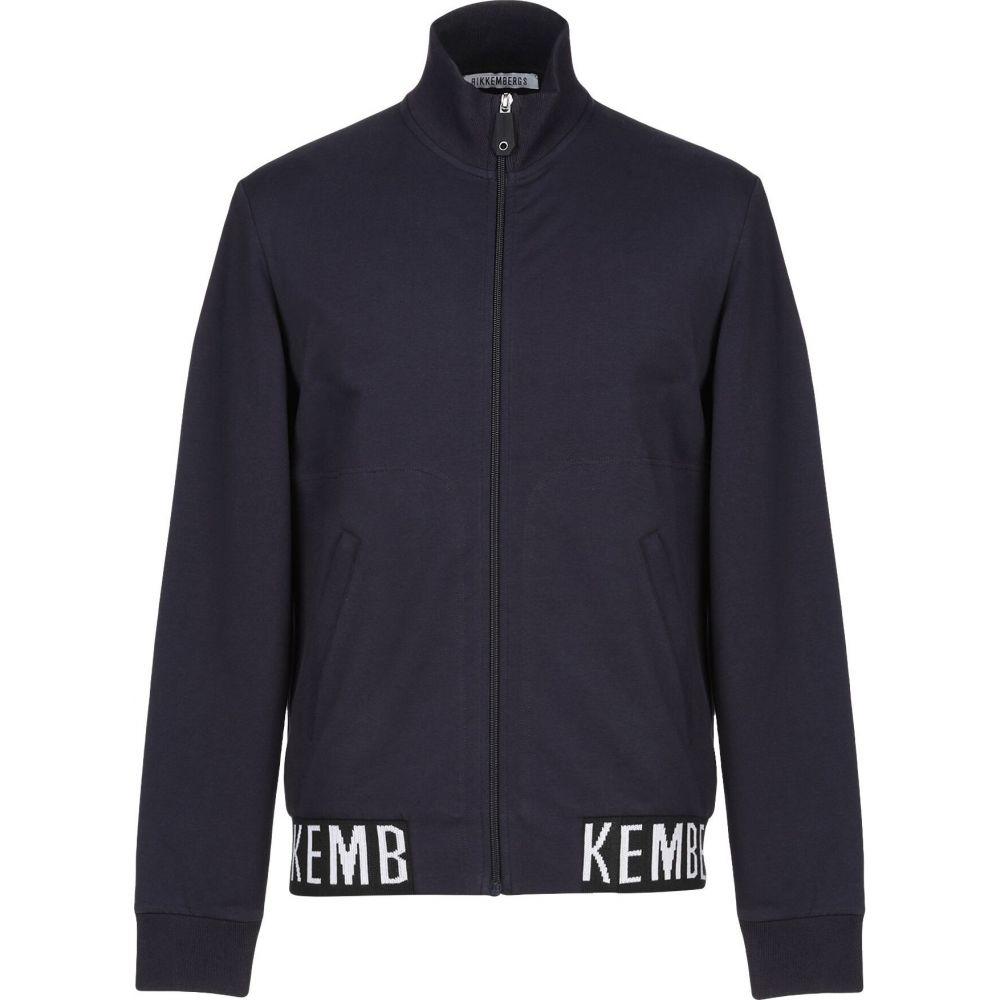 人気商品は ビッケンバーグ BIKKEMBERGS メンズ スウェット・トレーナー トップス【Sweatshirt】Dark blue, 東京下町雑貨店 29e96093