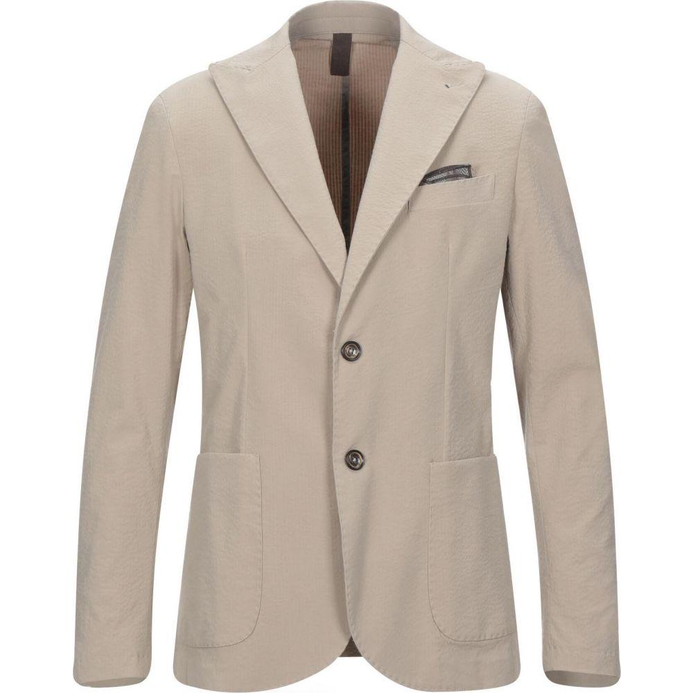柔らかい ビーサイレント BESILENT メンズ スーツ・ジャケット アウター【Blazer】Beige, 帽子屋かぶりた屋 767a0645