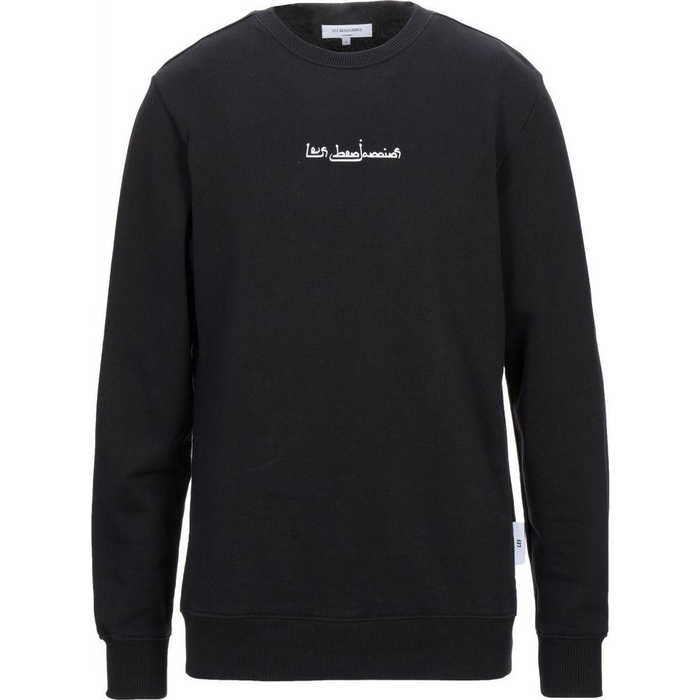 レス ベンジャミンズ LES BENJAMINS メンズ スウェット・トレーナー トップス【sweatshirt】Black