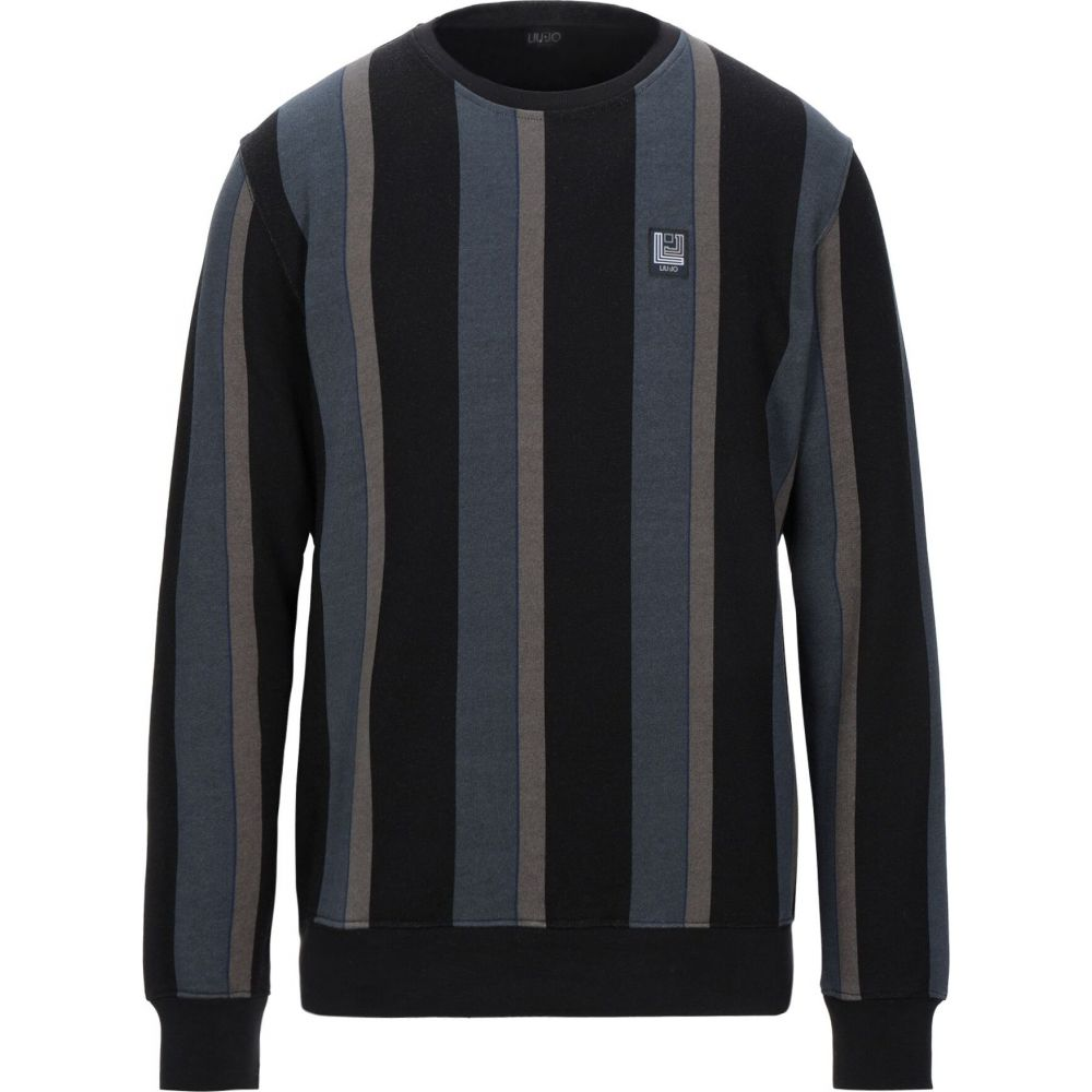 期間限定の激安セール リウジョー アウトレット メンズ トップス スウェット トレーナー Black JO サイズ交換無料 sweatshirt MAN LIU