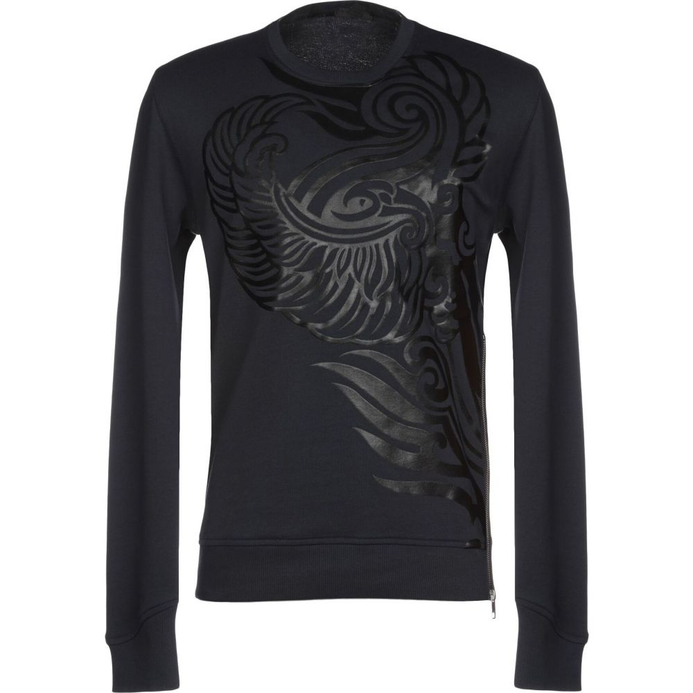 ジャスト カヴァリ JUST CAVALLI メンズ スウェット・トレーナー トップス【sweatshirt】Dark blue