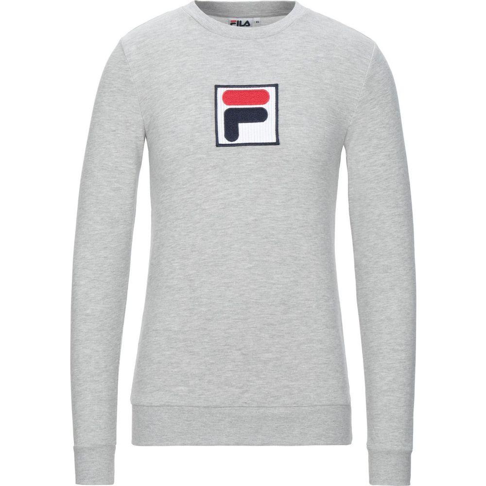 フィラ 好評 マーケティング メンズ トップス スウェット トレーナー sweatshirt サイズ交換無料 FILA Grey