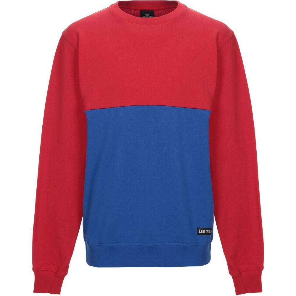 レスアーティスト LES (ART)ISTS メンズ スウェット・トレーナー トップス【sweatshirt】Red