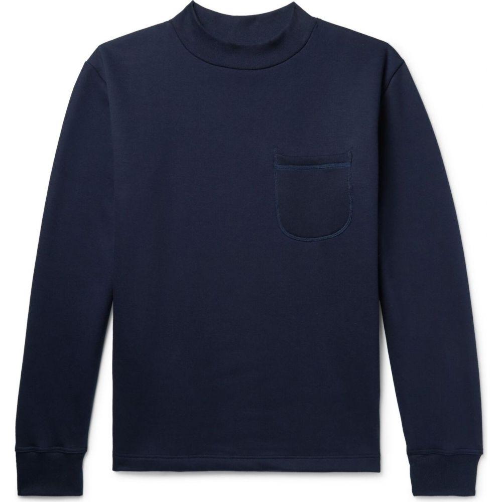 ハウリン HOWLIN' メンズ スウェット・トレーナー トップス【sweatshirt】Dark blue
