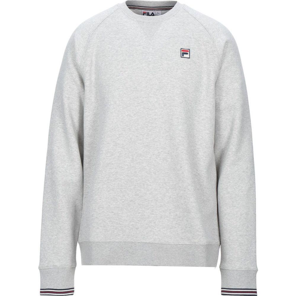 フィラ FILA メンズ スウェット・トレーナー トップス【sweatshirt】Light grey