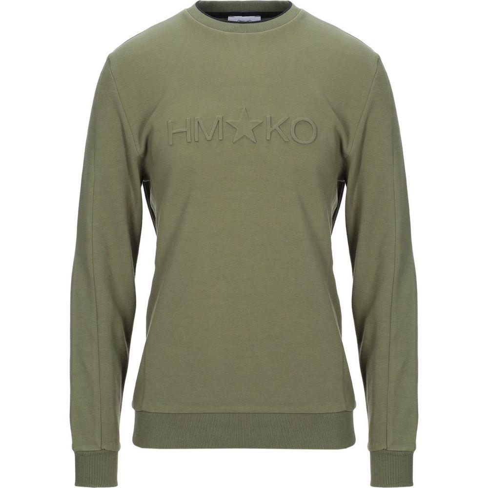 ハマキホ HAMAKI-HO メンズ スウェット・トレーナー トップス【sweatshirt】Military green