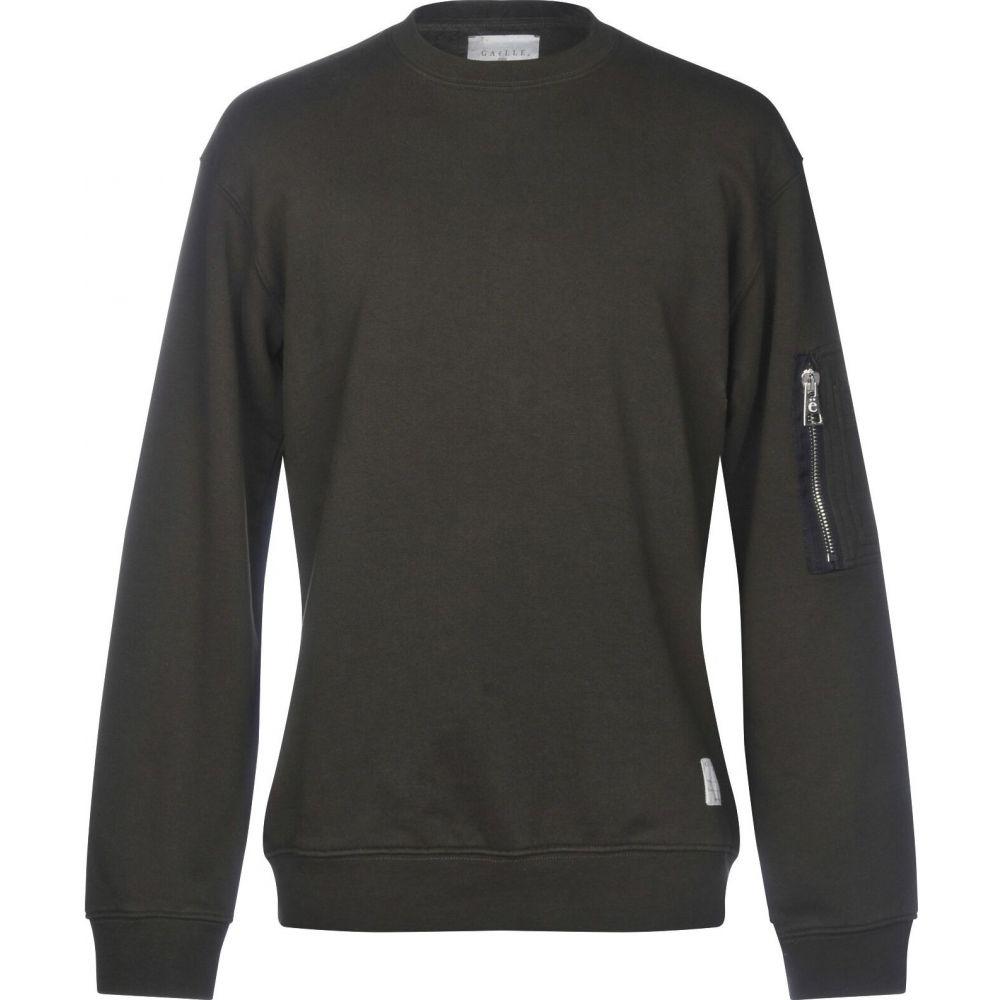 ガエル パリ メンズ トップス スウェット トレーナー サイズ交換無料 green Paris GAeLLE Military 本物 優先配送 sweatshirt